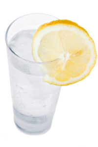 shutterstock_29699812 cup of water with lemon