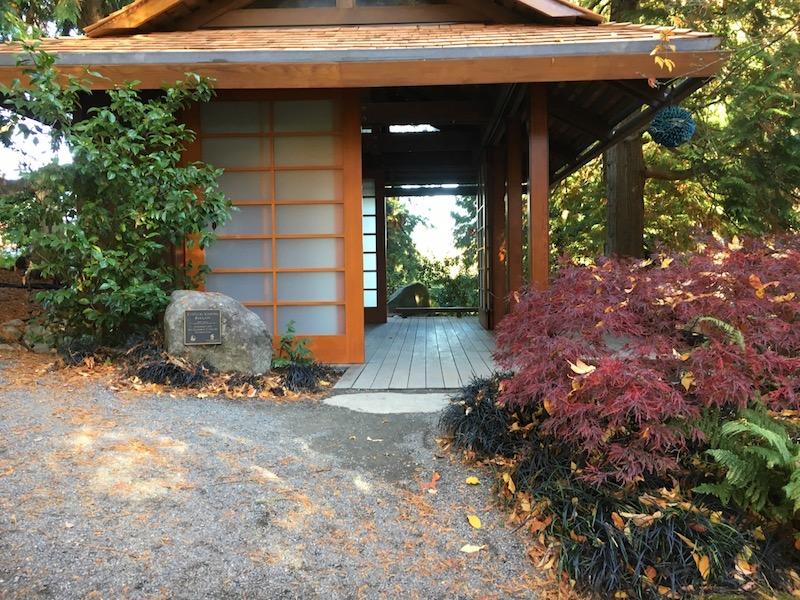 Bellevue Botanical Garden Tateuchi Viewing Pavillion