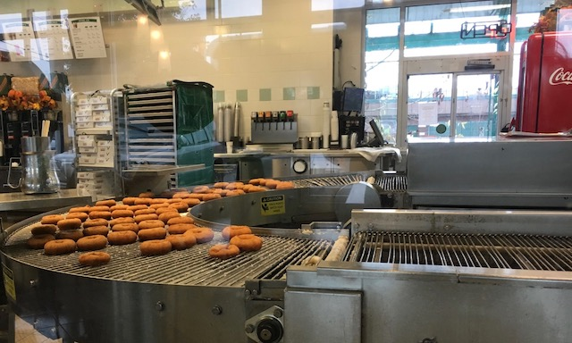Fresh donuts in Seattle coming up