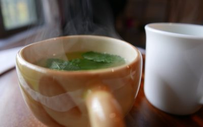 How to make mint tea from fresh leaves?