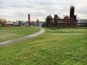 Gas Works Park in Wallingford